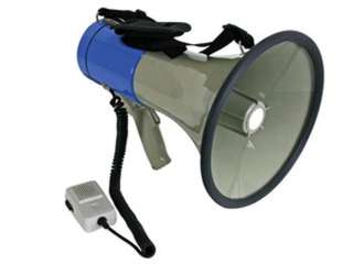 MEGAPHONE 25W DETACHABLE W/ANTI- HOWL MICROPHONE