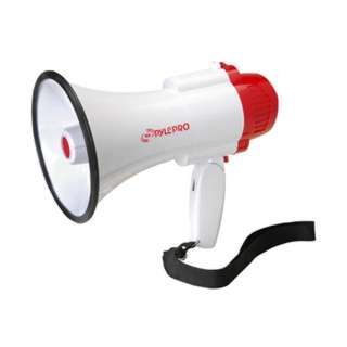 MEGAPHONE 30W W/SIREN MEMORY 10SEC & RECORDING OPTION