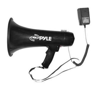 MEGAPHONE 40W DETACHABLE MIC SIREN & 3.5MM AUX-IN FOR MUSIC