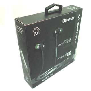 EARPHONE BLUETOOTH W/MIC BLACK WIRELESS BATTERY 60MAH 5V DC