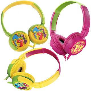 HEADPHONE STEREO FOLDABLE AMPLIFY KIDDIES ASSORTED