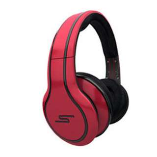 HEADPHONE STEREO ON-EAR RED WIRED LIMITED EDITION