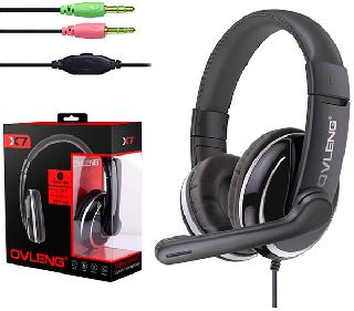 HEADSET WITH MICROPHONE 3.5MM PL GAMING