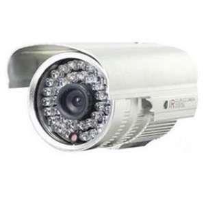 CAMERA SECURITY IP COLOR OUTDOOR WATERPROOF IR WITH RJ45 PORT