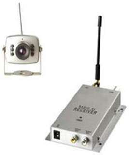 CAMERA SECURITY COLOR WIRELESS 1.2GHZ INFRARED CCTV 1/3 CMOS