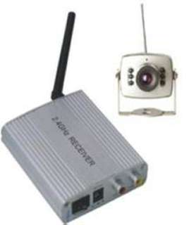 CAMERA SECURITY COLOR WIRELESS 2.4GHZ INFRARED CCTV 1/3 CMOS