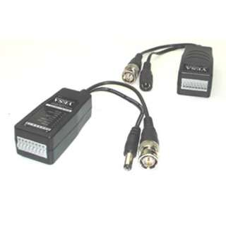 BNC PLUG TO 8POS PUSH PINS FOR CCTV WITH DC POWER PLUG/JACK