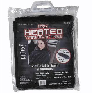 TRAVEL BLANKET HEATED 12V 