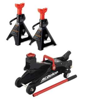 TROLLEY JACK HIGH LIFT 2 TON WITH 2 JACK STANDS