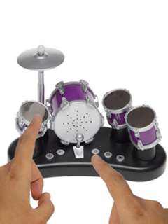 FINGER DRUMS-AGES 5+ REQUIRES 2XAAA BATTERIES