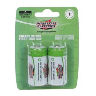 BATTERY NI-MH C 1.2V 4000MAH 