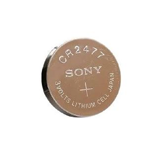 BATTERY LITHIUM 3V COIN CR2477 