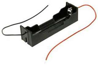 BATTERY HOLDER 18650X1 LI-ION BATTERY
