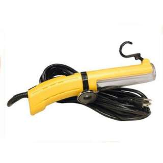 WORKLIGHT FLOURESCENT 120V 13WAT CABLE 12FT SWIVEL W/HANGING HOOK