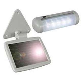 LED LIGHT SOLAR SHED 