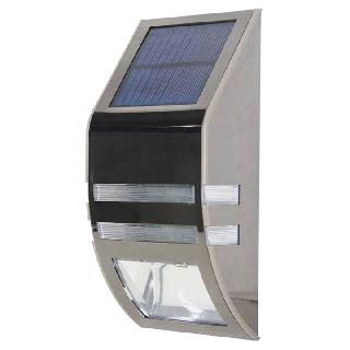 LED LIGHT SOLAR W/MOTION SENSOR WALLMOUNT WATERPOOF IP65 OUTDOOR