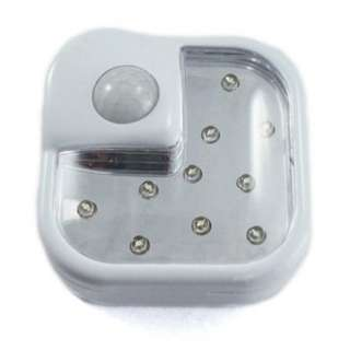 SECURITY LIGHT 10LED WITH MOTION SENSOR REQUIRES 3AA BATTERIES