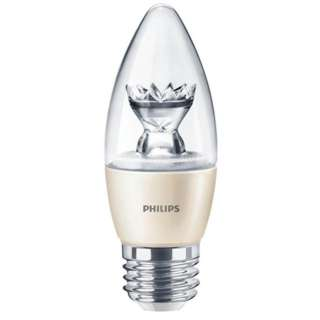 BULB LED B13 E26 SOFT WHITE 4.5W DIMMABLE 120V BLUNT TIP 2700K