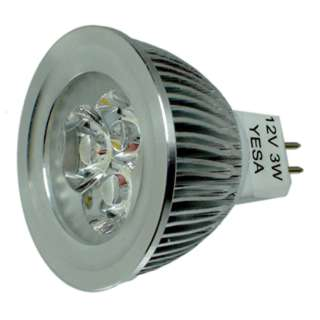 BULB LED MR16 GU5.3 WARM WHITE 3W 12V REPLACES 35W
