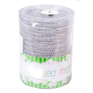 LED 24 MESH TUBE LIGHT W/TIMER ASSORTED INDOOR NEED 3AAA BATTER