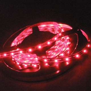 LED FLEXIBLE STRIP RED 16 FT 0.8X0.2CM 12VDC 1350MA