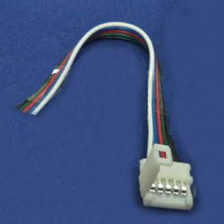 LED STRIP SNAP ON 5P CONN W/WIRE POWER TO STRIP RGB+W