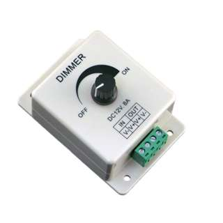 <strong>01941</strong><br>LED DIMMER 12V-24V 8A 1 CHANNEL 