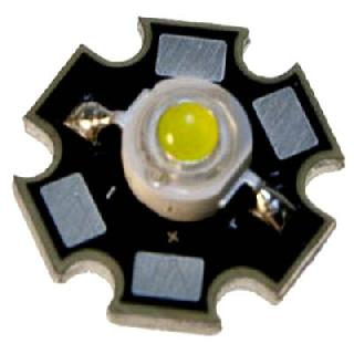 LED HIGH POWER WHT 3.3V 2.8W 350MA 27K MCD 120DEG ANGLE 85LM