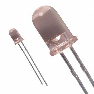 INFRARED EMITTER 5MM 50MW 1.7V 100MA 880NM