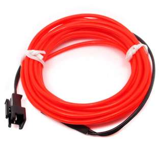 EL WIRE RED 2.3MM 3M 