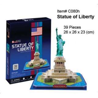 STATUE OF LIBERTY-3D PUZZLE 39 PCS 26X26X23CM