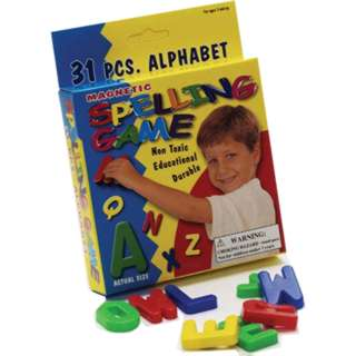 MAGNETIC LETTERS SPELLING GAME 31 PIECE ALPHABETS