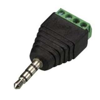 AUDIO PL 3.5 STEREO TO 4P SCREW TERMINAL