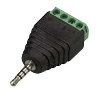 AUDIO PL 2.5 STEREO TO 4P SCREW TERMINAL