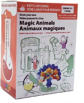 MAGIC ANIMALS-GROW YOUR OWN CHEMISTRY EXPERIMENT