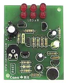 SOUND-LEVEL INDICATOR 6-LED 