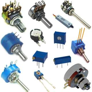 POTENTIOMETERS AND TRIMPOTS