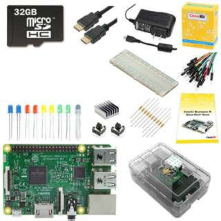 RASPBERRY PI 3 32GB STARTER KIT 