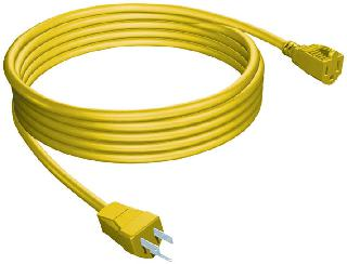 EXTENSION CORD 3/16 25FT YELLOW SJTW
