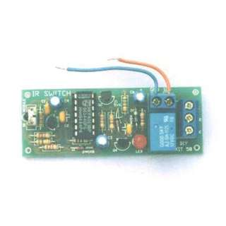 IR REMOTE TOGGLE SWITCH USE ANY TV/VIDEO REMOTE TO TURN ON/OFF