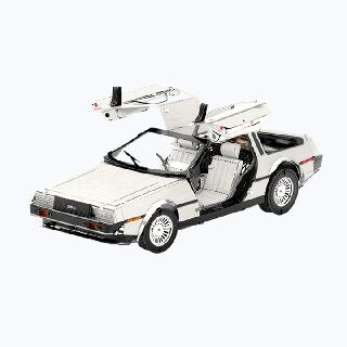DELOREAN METAL EARTH 3D LASER CUT MODEL