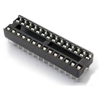 IC SOCKET DW 28 TIN 7.6MM 