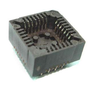 PLCC SOCKET 28P PC TIN 
