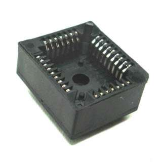 PLCC SOCKET 32P PC TIN 