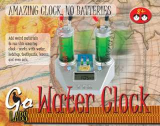 WATER CLOCK-AGES 8+ 