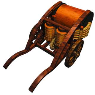 MECHANICAL DRUM LEONARDO DA VINCI MODEL KITS