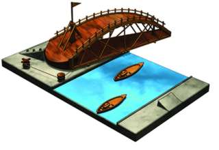 SWING BRIDGE LEONARDO DA VINCI KITS