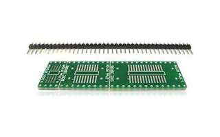 BOARD SMT PROTOTYPE 1X3 INCH SOIC TO DIP ADAPTOR