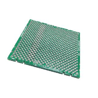 BOARD SMT PROTOTYPE 2X2IN SQ PAD 0.1IN THROUGH HOLE