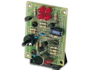 SOUND TO LIGHT UNIT USING LED SOUND INDICATOR